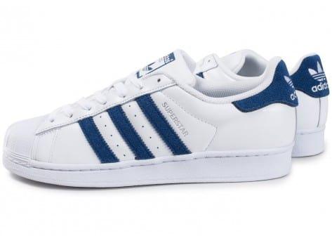 Adidas Superstar Suede Bleu Marine Chaussures Homme Adidas